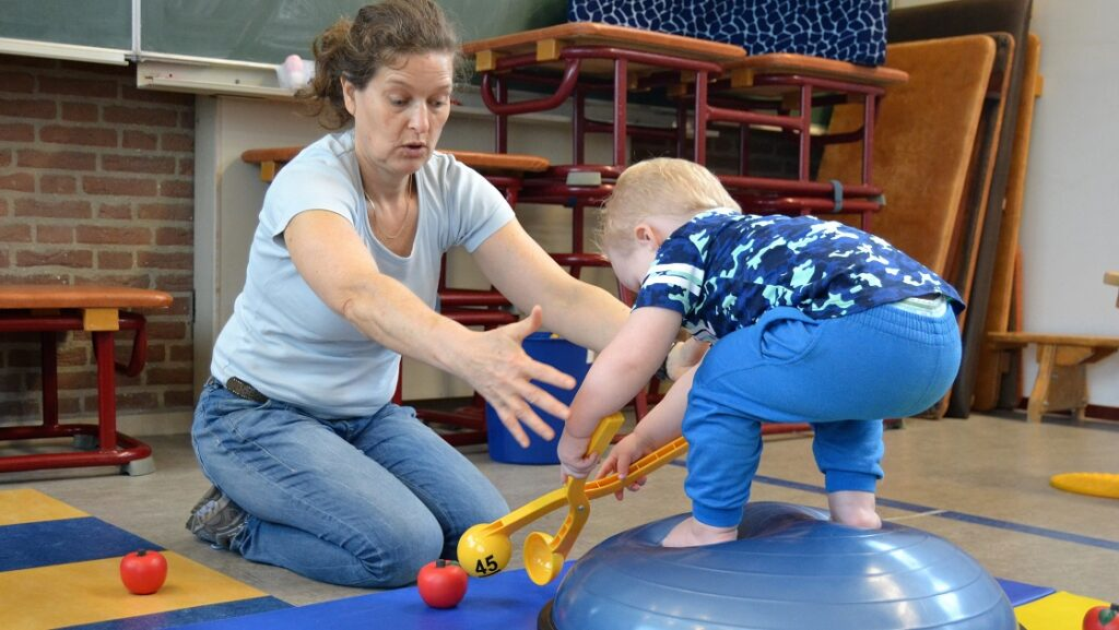 Kinderfysiotherapie voor peuters